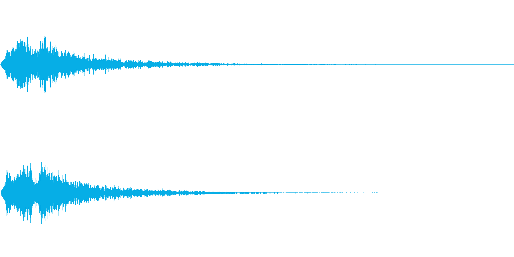 Vox 不気味な鳴き声 ホラーSE 4の再生済みの波形