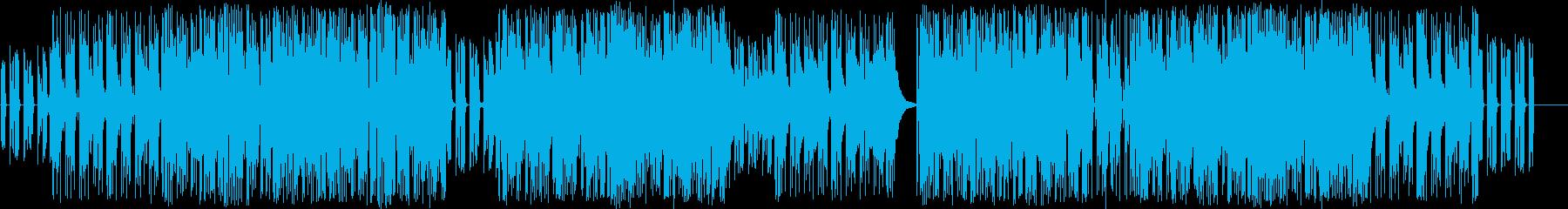アコギが織り成すメロウRAP TUNEの再生済みの波形