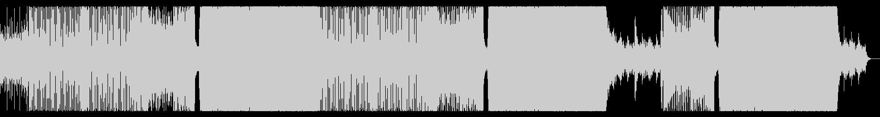 テンション上がるクールなEDMの未再生の波形