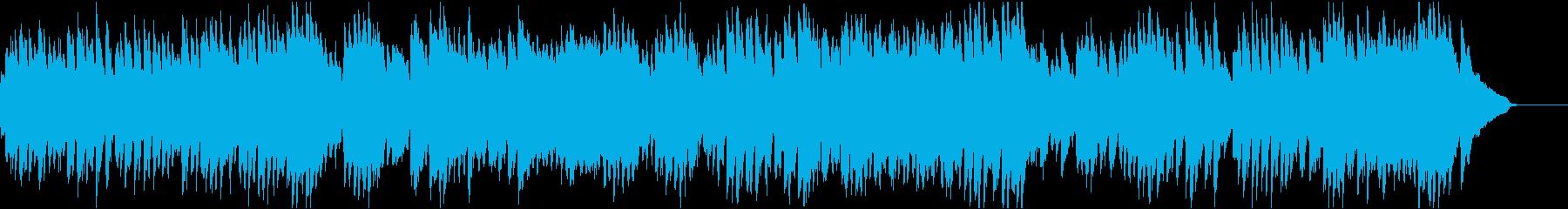 バッハ_インヴェンション第4番_ピアノの再生済みの波形