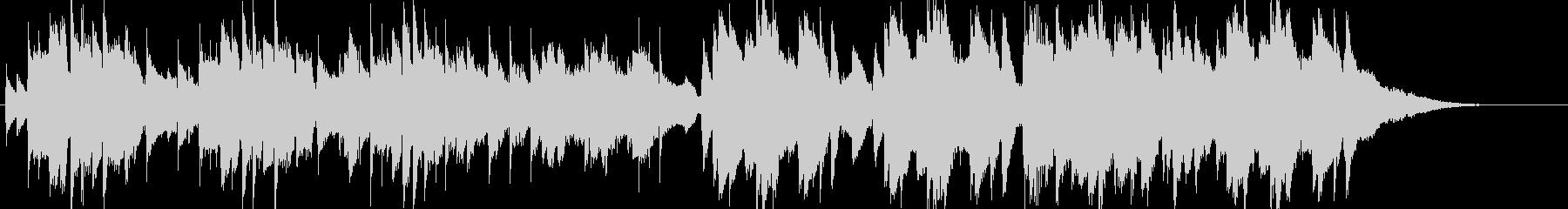 切ないアコースティックギターBGMの未再生の波形