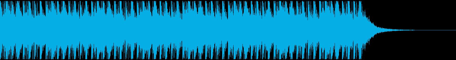 緊迫感のあるエレクトロです。の再生済みの波形