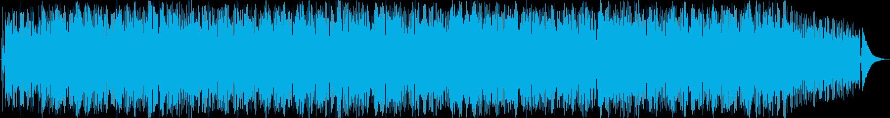 ラテン ジャズ バサノバ ほのぼの...の再生済みの波形