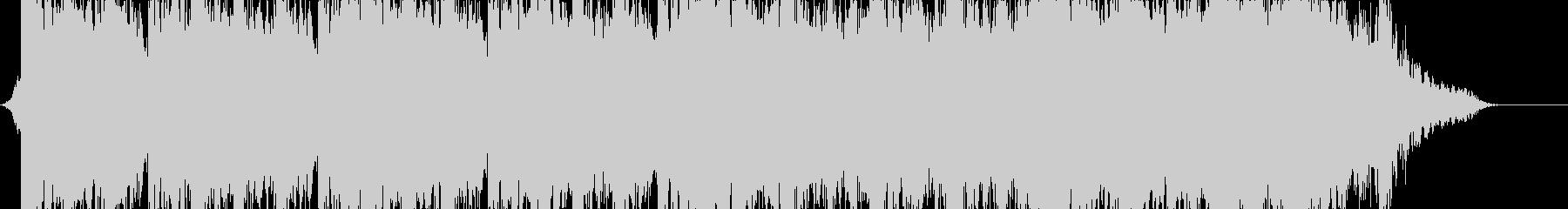 重低音が目立つシネマティックの未再生の波形