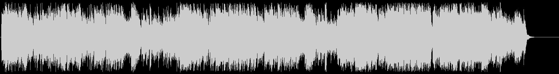 バロック調シンセポップの未再生の波形