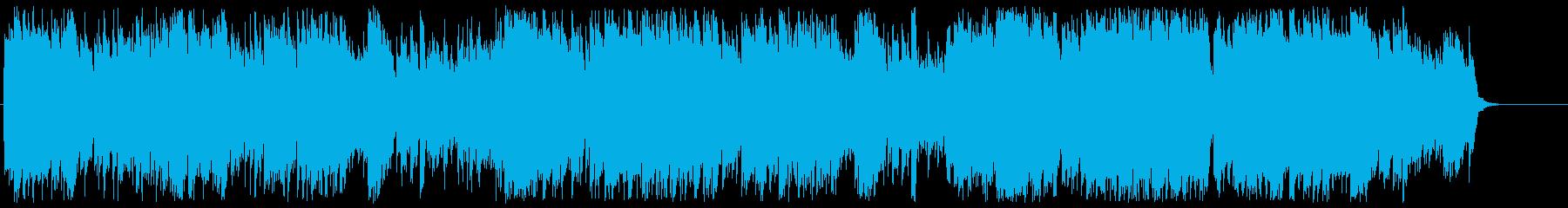 バロック調シンセポップの再生済みの波形