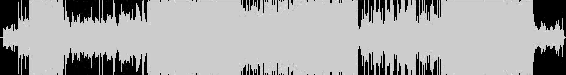 アニメソングとして使われそうな曲調の未再生の波形