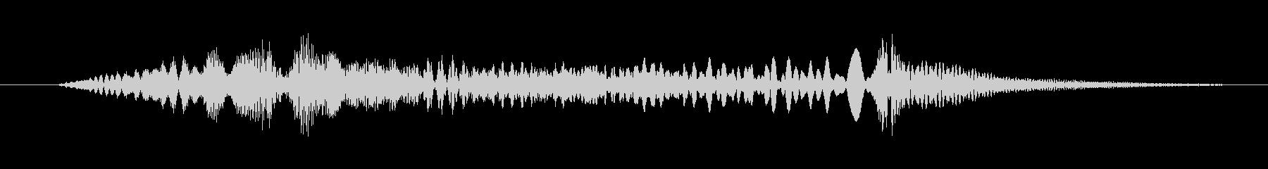 特撮 インターフェーススイープ03の未再生の波形