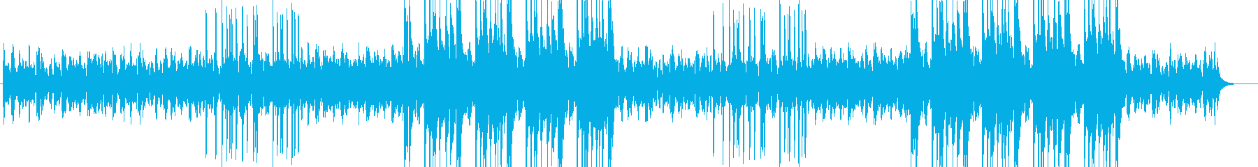 幻想的な雰囲気のあるチルトラップの再生済みの波形