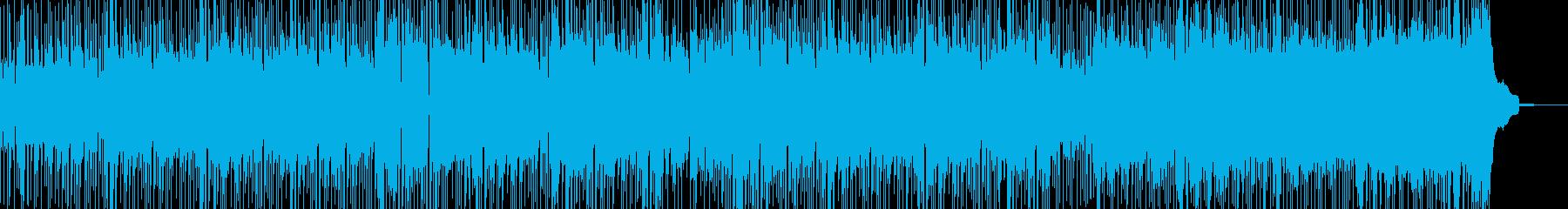 軽やかなリズムで楽しませるポップスの再生済みの波形