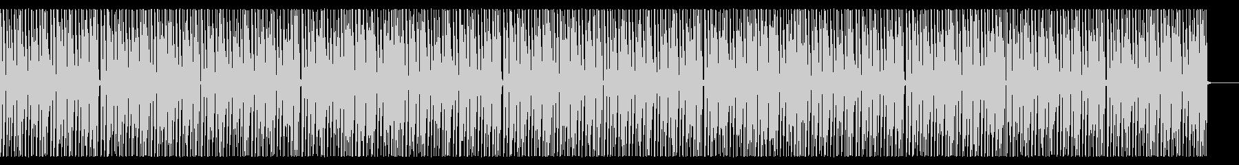 ほのぼのCM系BGMの未再生の波形