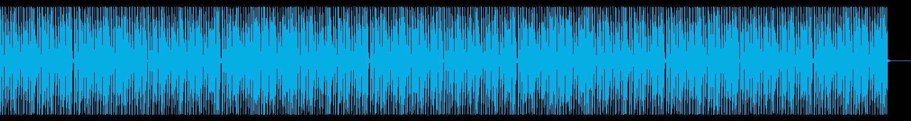 ほのぼのCM系BGMの再生済みの波形