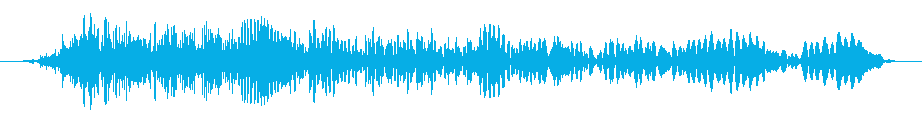 インパクトヘビーパワーダウンの再生済みの波形