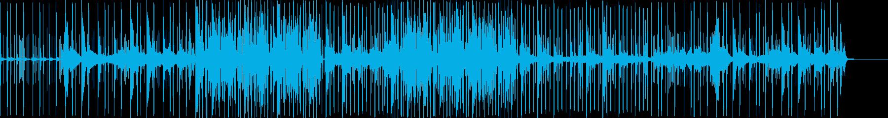 雰囲気のあるApple的音楽の再生済みの波形