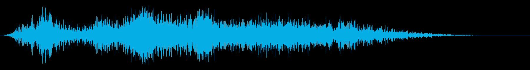 乱流の複雑なフーシュ2の再生済みの波形