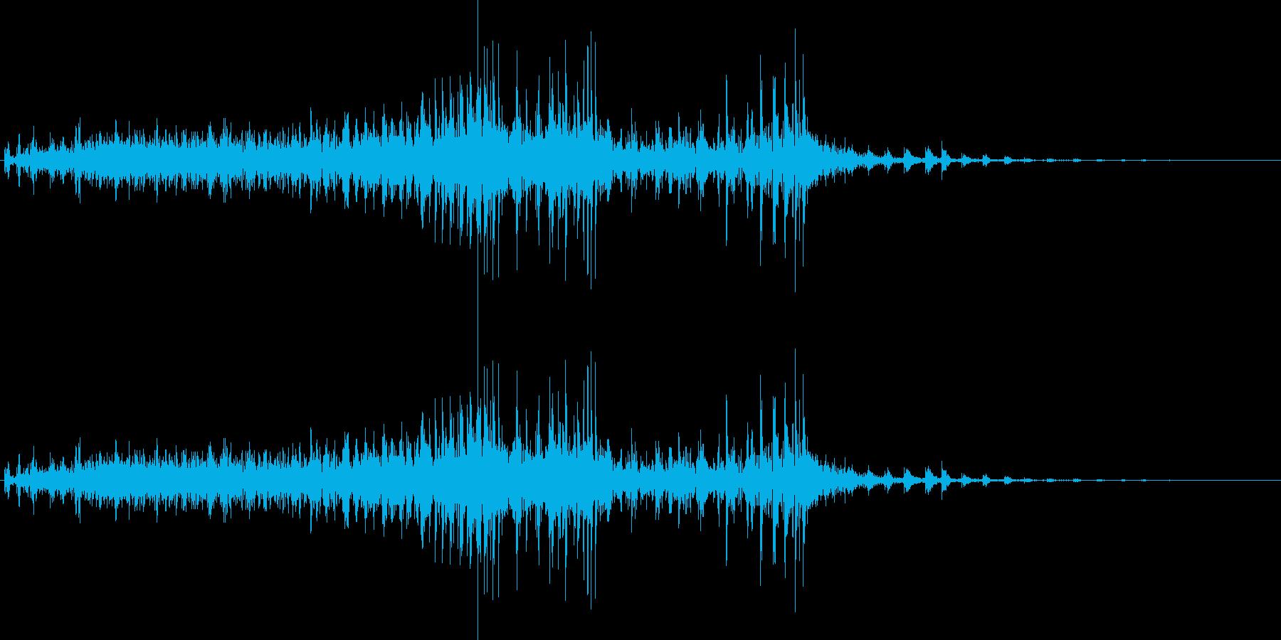 グロ系クリーチャーの再生済みの波形