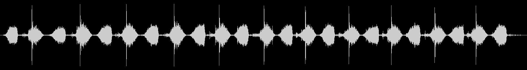 小型ベローズ:低速ポンプの未再生の波形