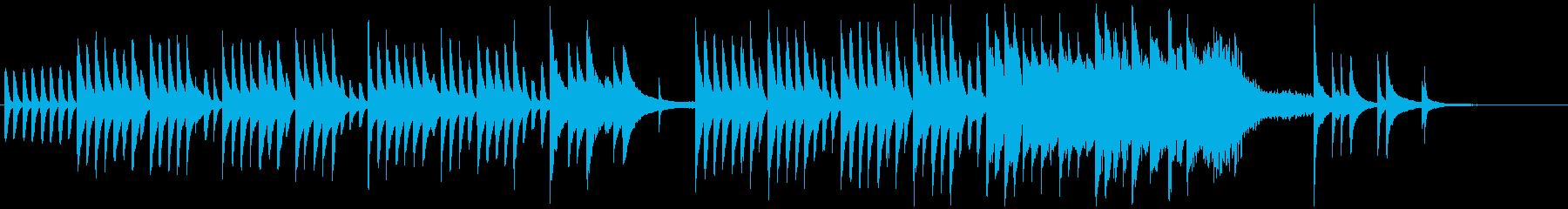 【ピアノ】料理・散歩・朝・日常の再生済みの波形