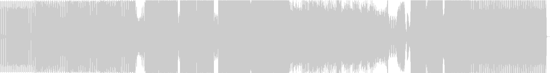 エレクトロハウス、ランの未再生の波形
