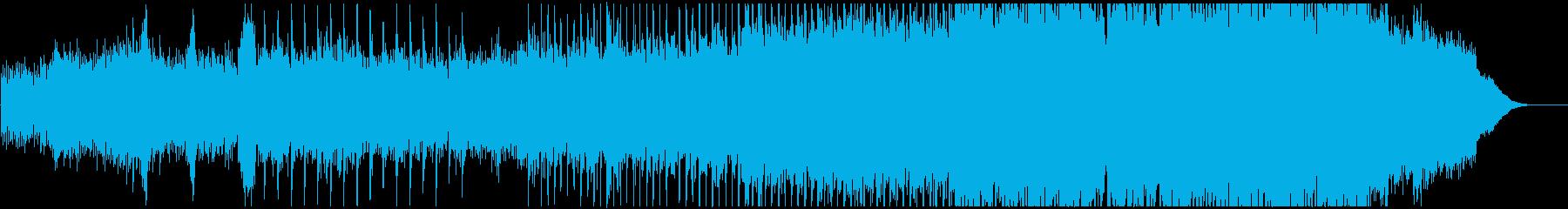 アコギ主体の透明感のある曲、映像等にの再生済みの波形