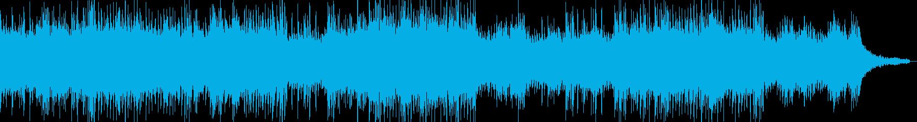 ピアノのリフで始まるハウス系サウンドの再生済みの波形