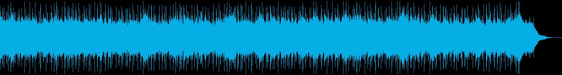 製品紹介、情報案内、くつろぎ、チルアウトの再生済みの波形