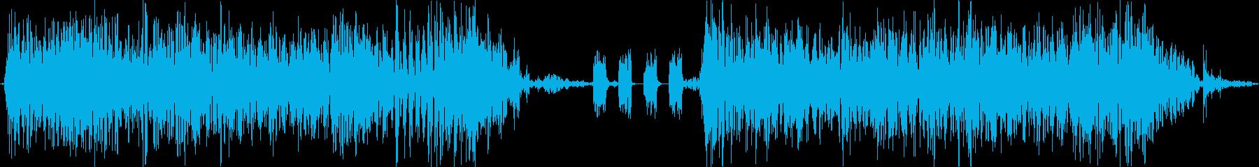 サウンドロゴ_インパクト血気盛BASSの再生済みの波形