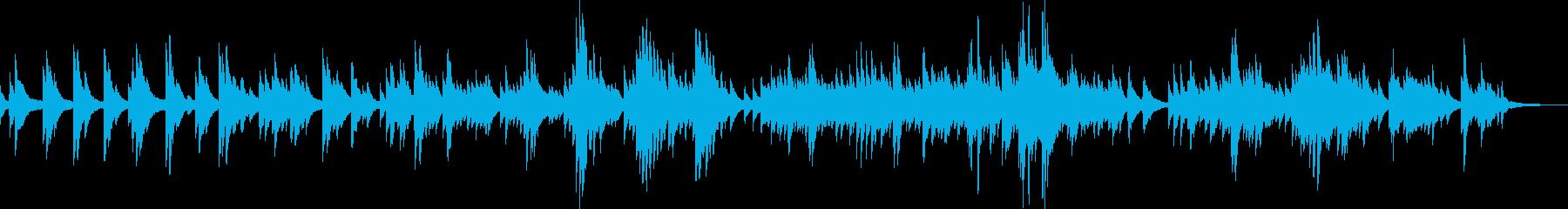 小さな幸せ(ピアノ・優しい・切ない)の再生済みの波形