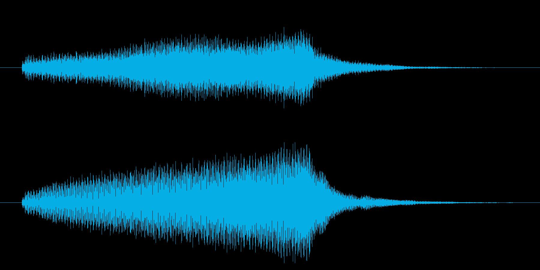 光 希望 出口 悟り#2 アイキャッチの再生済みの波形