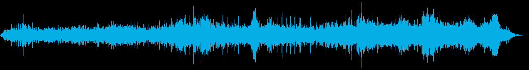 ハーレーの大規模なグループ:アイド...の再生済みの波形