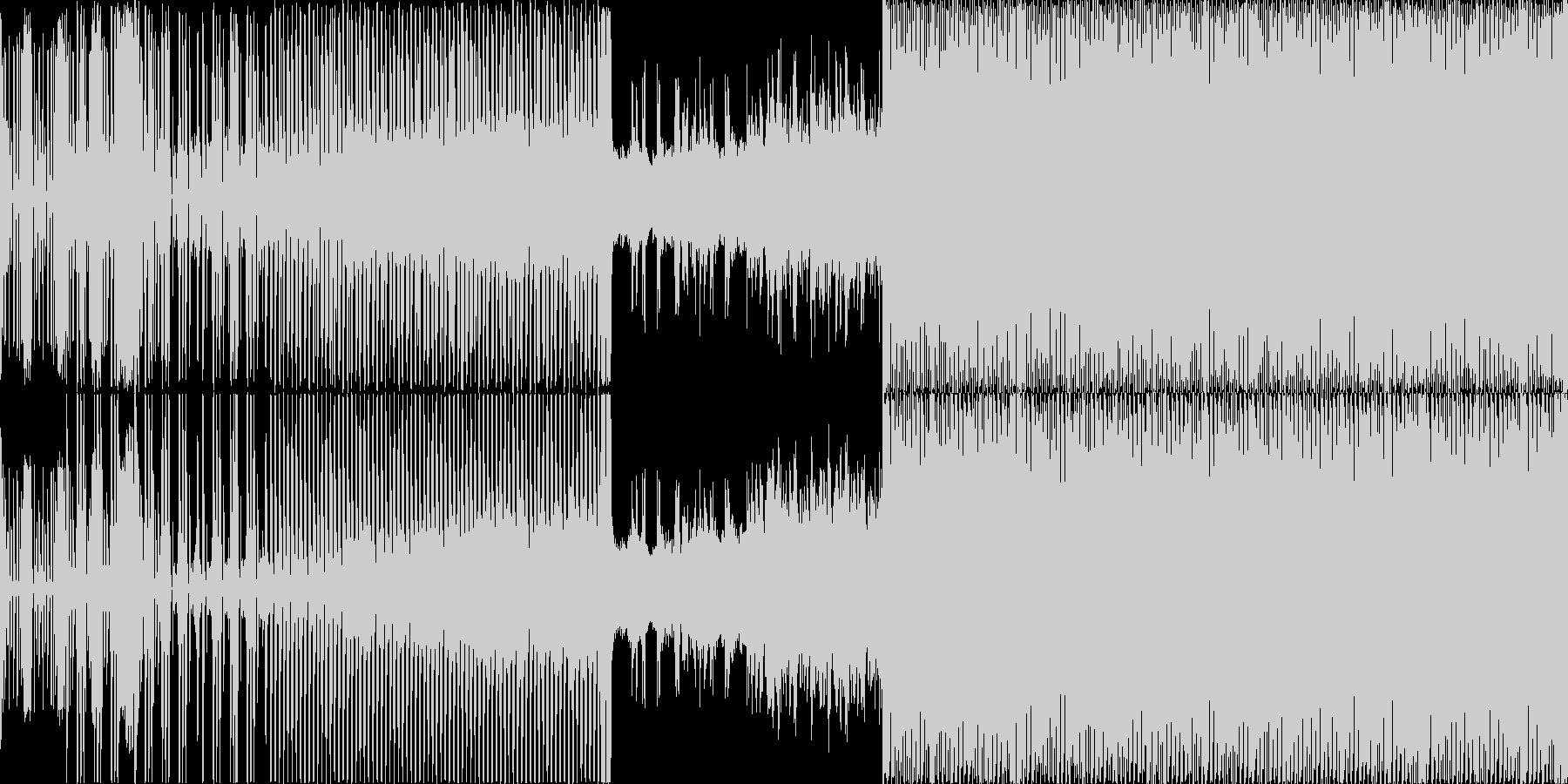 ロンド・ヴェネツィアーノ。ランニン...の未再生の波形