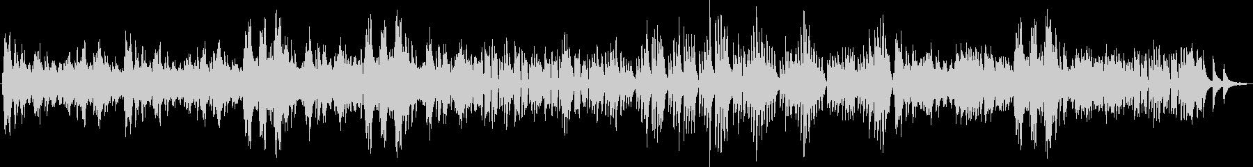 スラブ舞曲 ピアノ連弾の未再生の波形