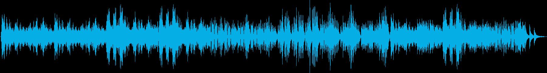 スラブ舞曲 ピアノ連弾の再生済みの波形