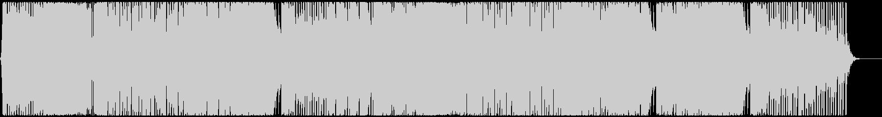 ダンサブルなEDMハウス CM・映像の未再生の波形
