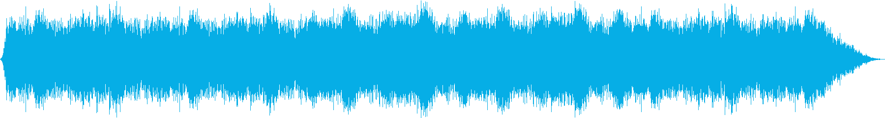 就寝前にオススメのヨガ音楽の再生済みの波形