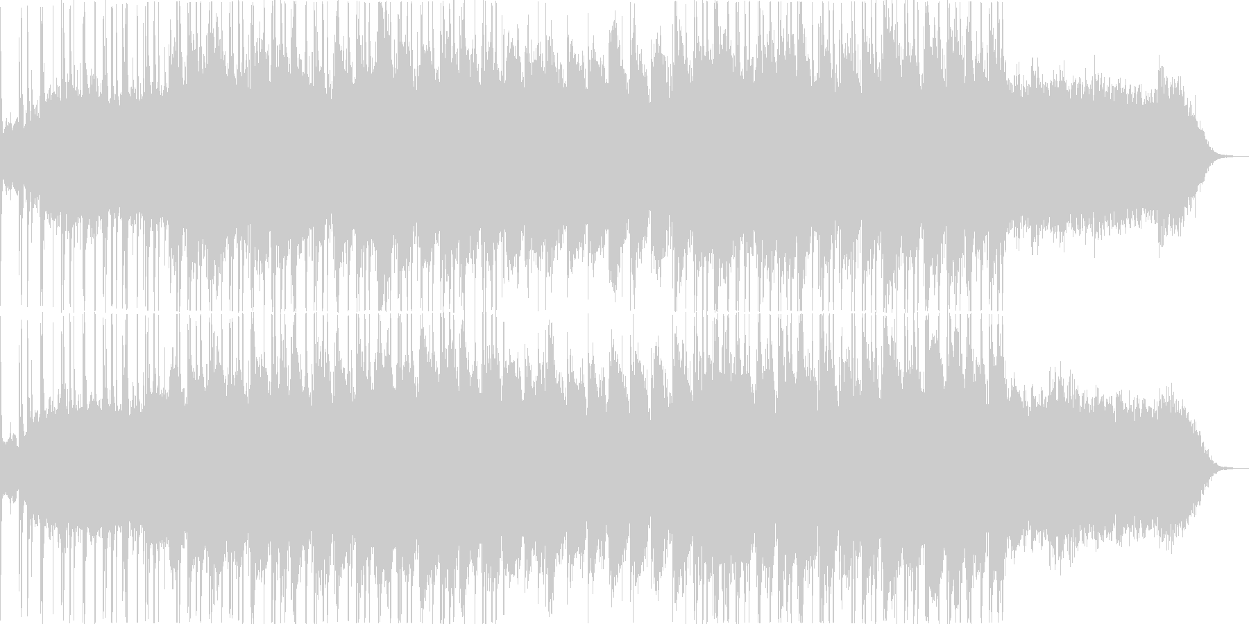 シティーポップ・ヒップホップ・お洒落の未再生の波形