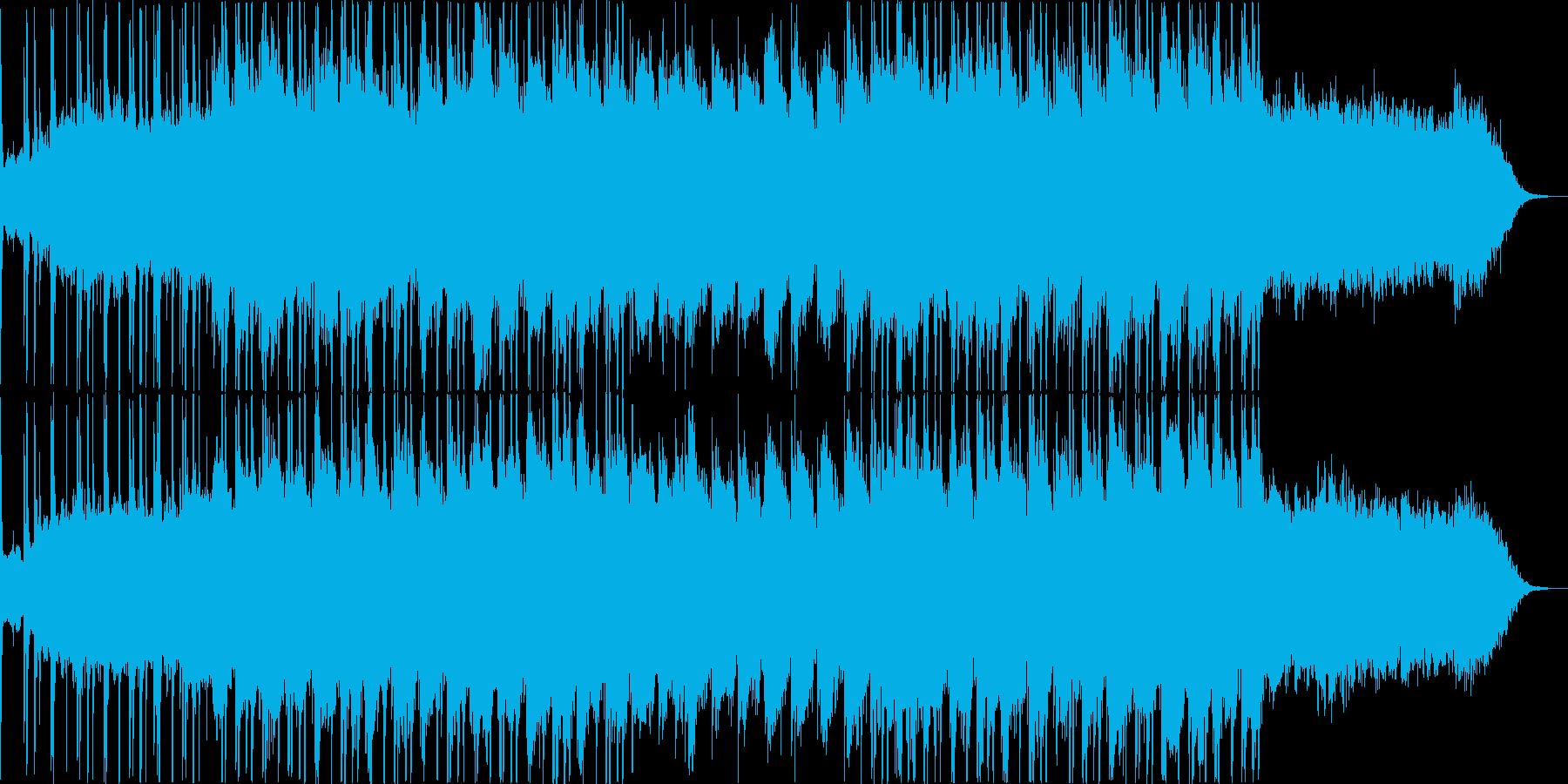 シティーポップ・ヒップホップ・お洒落の再生済みの波形