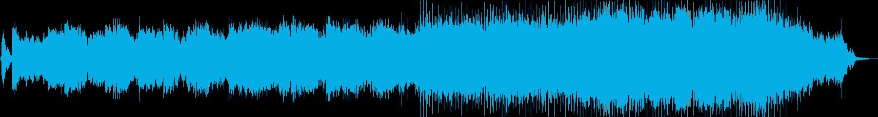 スカボローフェアのような幻想的な曲の再生済みの波形