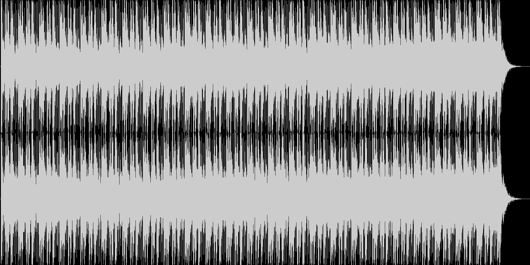 ほのぼの雰囲気のテクノポップの未再生の波形