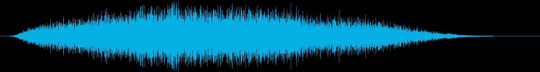 引き出し、ふすま(静かに開閉)ズスーッの再生済みの波形