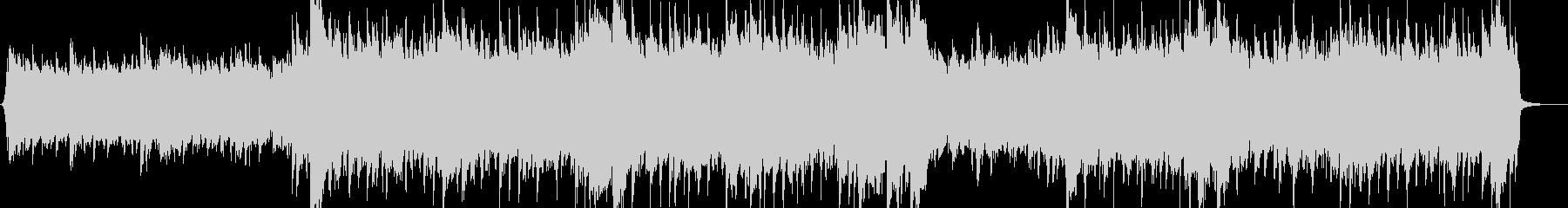 ゆったりどっしりとしたピアノロックの未再生の波形