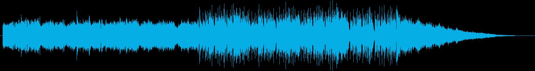 シンセ主体のアップテンポなポップスです。の再生済みの波形
