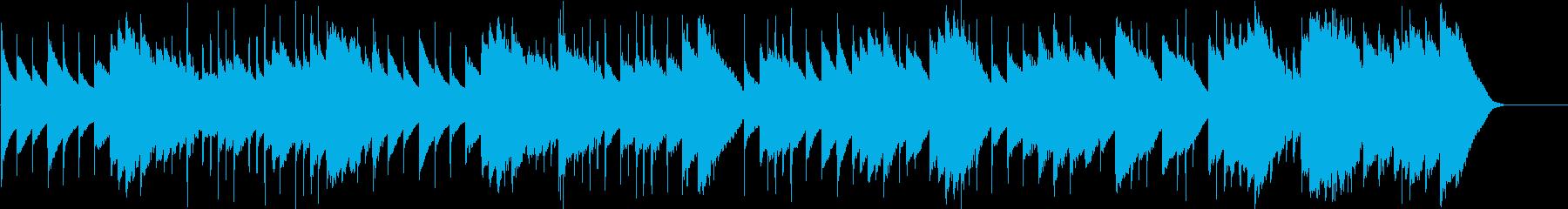 メヌエット ト短調(オルゴール)の再生済みの波形