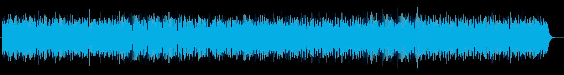 優しくトロンボーンが印象的なテクノの再生済みの波形