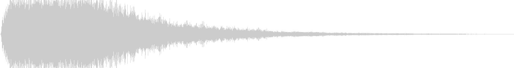 ゴーストの声と試合開始のゴング効果音の未再生の波形