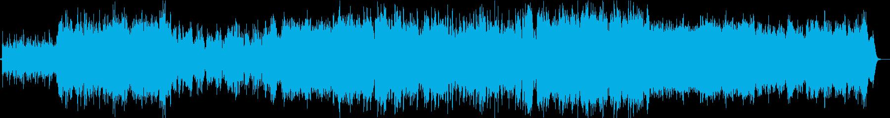 オーケストラによる壮大なケルト風BGMの再生済みの波形