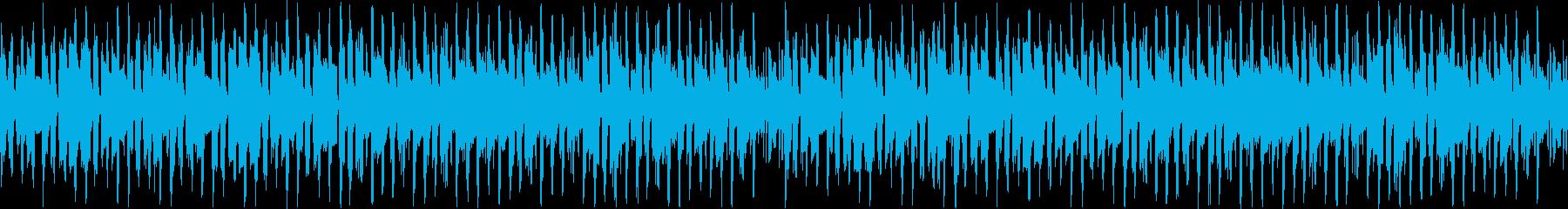 【YouTube】シンプルな日常曲の再生済みの波形