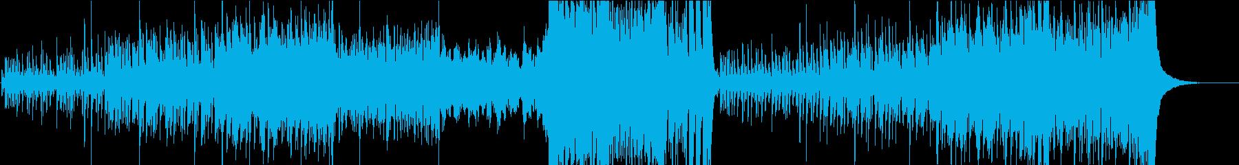 アジアン調のほのぼのとしたBGMの再生済みの波形