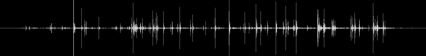 ニンジントップス:リッピングクラン...の未再生の波形