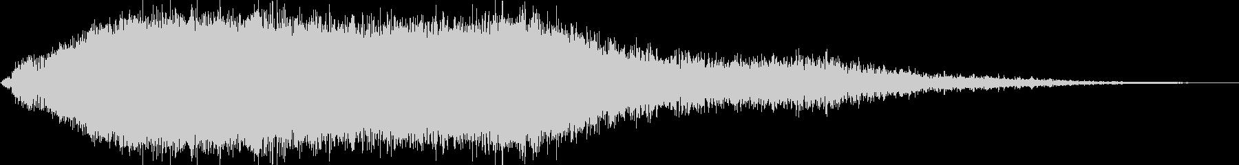 KANT怪獣の鳴き声Middle2の未再生の波形